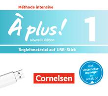 À plus ! - Begleitmaterial auf USB-Stick - Band 1