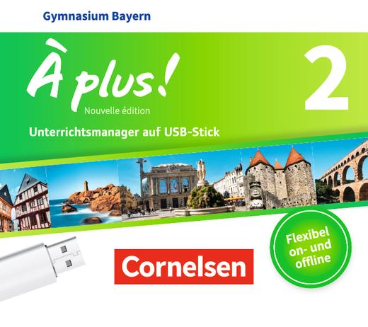 À plus ! - Unterrichtsmanager Plus auf USB-Stick - Band 2