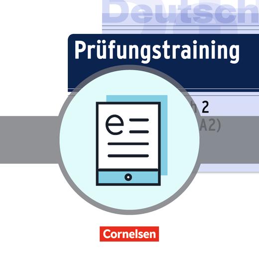 Prüfungstraining DaF - telc Deutsch A2 - Übungsbuch als E-Book - A2