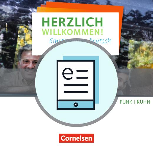 Herzlich willkommen! - Einstiegskurs Deutsch - Arbeitsheft als E-Book