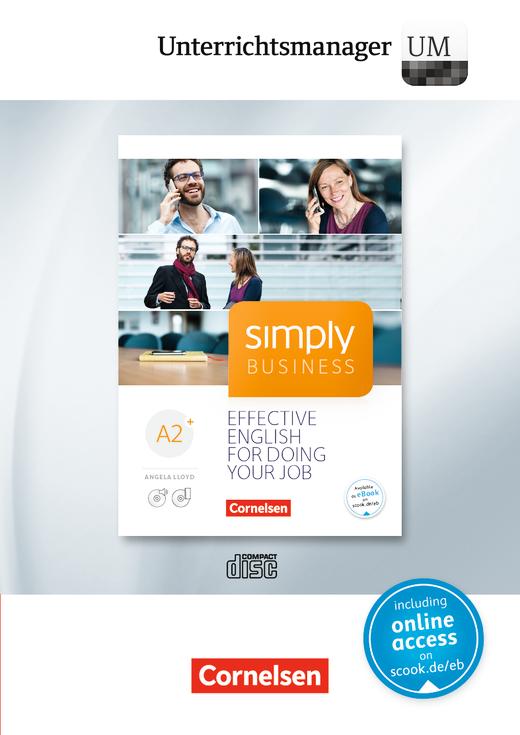 Simply Business - Unterrichtsmanager - Vollversion auf DVD-ROM - A2+