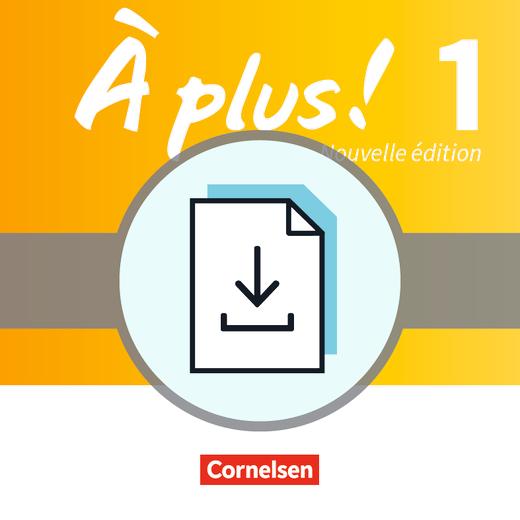 À plus ! - Médiation - Texte und Übungen zur Sprachmittlung im ersten Lernjahr - Kopiervorlagen als Download - Band 1