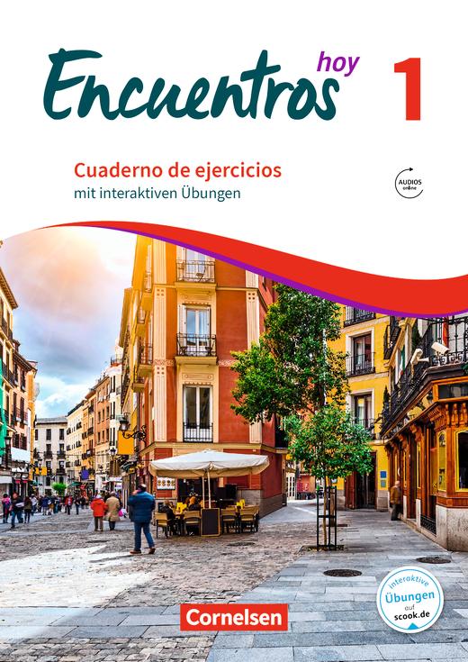 Encuentros - Cuaderno de ejercicios mit interaktiven Übungen auf scook.de - Band 1