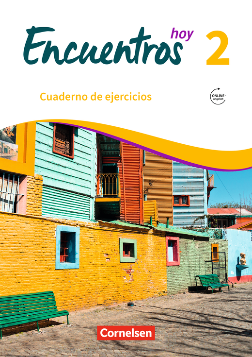 Encuentros - Cuaderno de ejercicios mit interaktiven Übungen auf scook.de - Lehrerfassung - Band 2