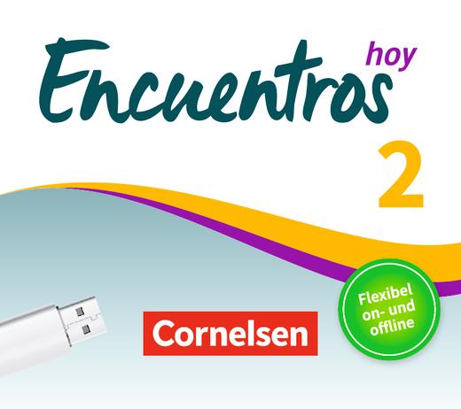 Encuentros - Unterrichtsmanager auf USB-Stick - Band 2