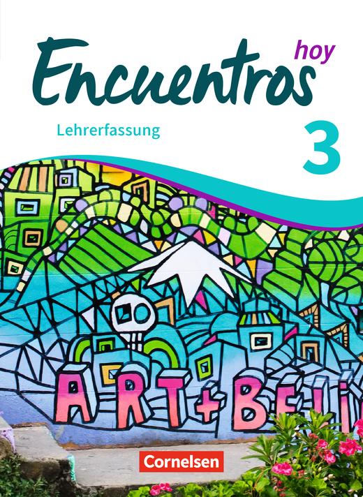 Encuentros - Schülerbuch - Lehrerfassung - Band 3