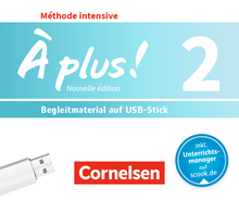 À plus ! - Begleitmaterial auf USB-Stick - Band 2