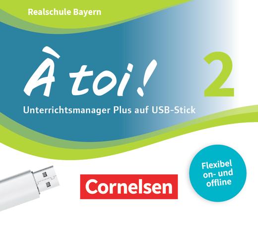 À toi ! - Unterrichtsmanager auf USB-Stick - Band 2