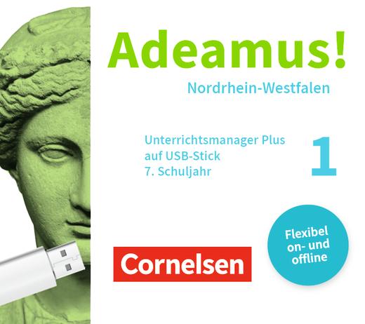 Adeamus! - Unterrichtsmanager Plus auf USB-Stick. Für das 7. Schuljahr - Band 1