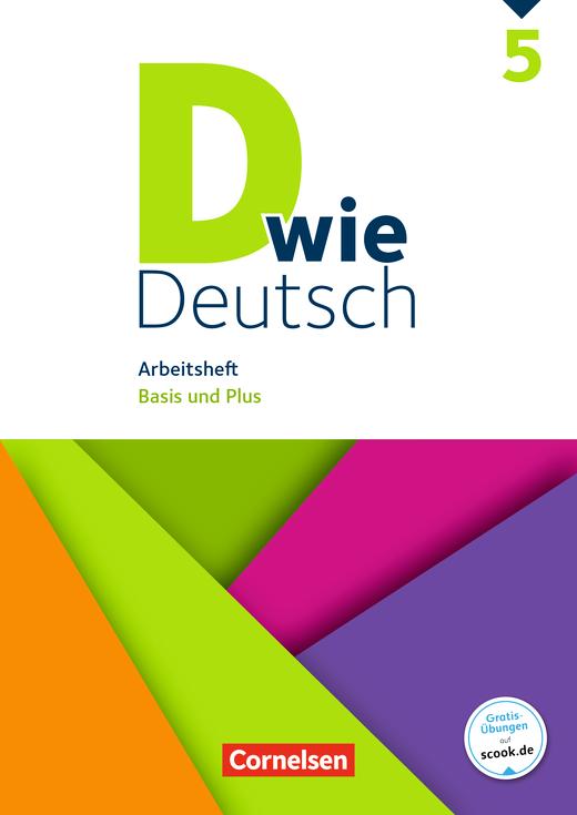 D wie Deutsch - Arbeitsheft mit Lösungen - 5. Schuljahr