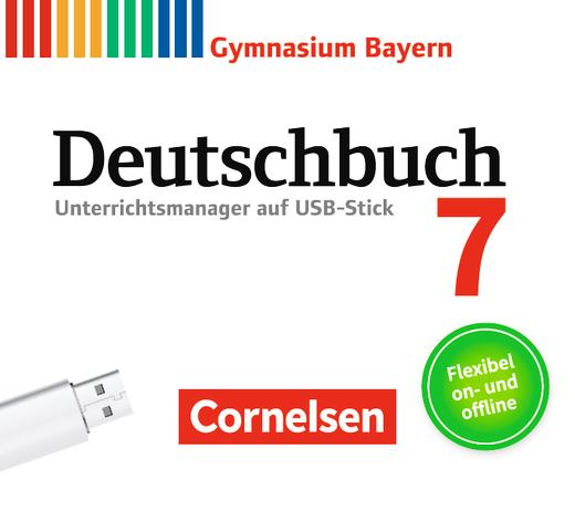 Deutschbuch Gymnasium - Unterrichtsmanager Plus auf USB-Stick - 7. Jahrgangsstufe