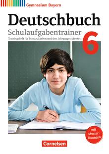 Deutschbuch Gymnasium - Schulaufgabentrainer mit Lösungen - 6. Jahrgangsstufe