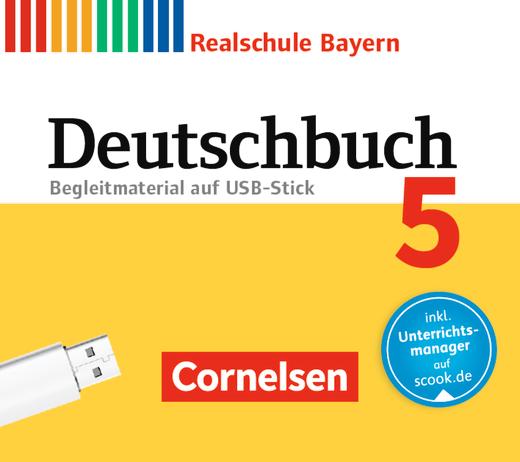 Deutschbuch - Begleitmaterial auf USB-Stick - 5. Jahrgangsstufe