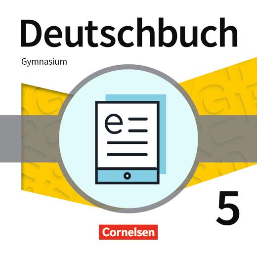 Deutschbuch Gymnasium - Schülerbuch als E-Book - 5. Schuljahr