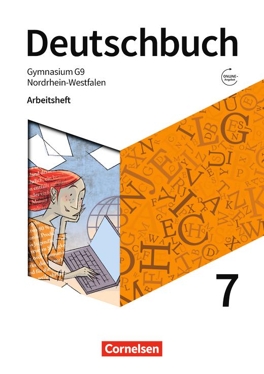 Deutschbuch Gymnasium - Arbeitsheft mit Lösungen - 7. Schuljahr