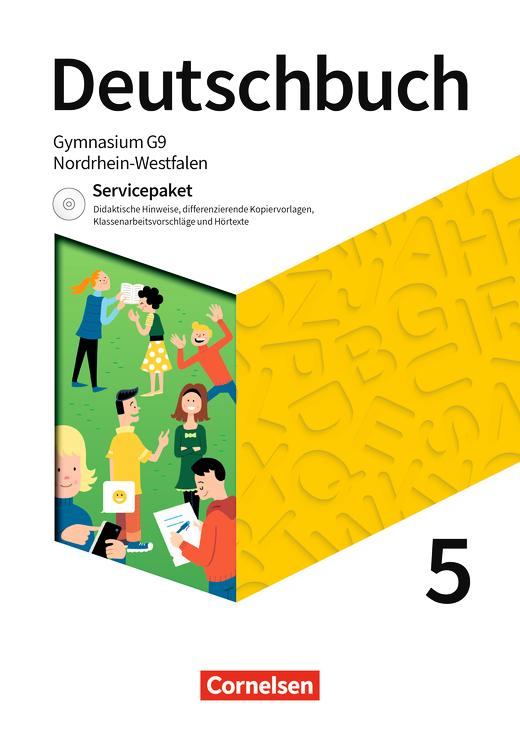 Deutschbuch Gymnasium - Servicepaket mit CD-Extra - 5. Schuljahr