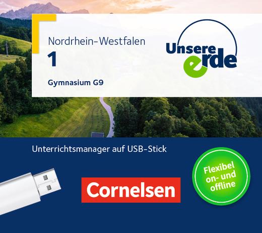 Unsere Erde - Unterrichtsmanager Plus auf USB-Stick - Band 1