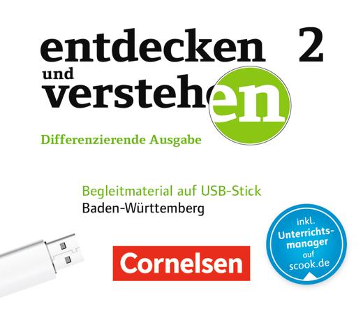 Entdecken und verstehen - Begleitmaterial auf USB-Stick - Band 2: 7./8. Schuljahr