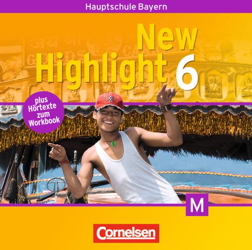 New Highlight - Lieder- und Text-CDs - Band 6: 10. Jahrgangsstufe