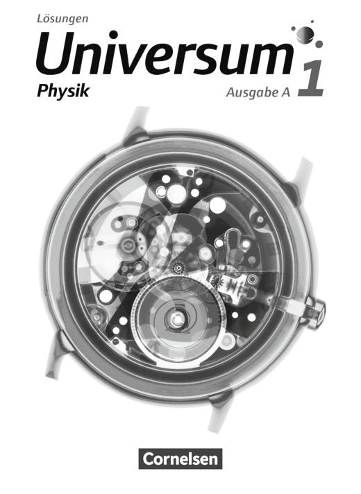 Universum Physik - Lösungen - Band 1