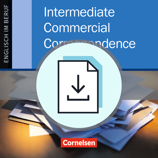 Commercial Correspondence - Answer Key als Download - B1/B2