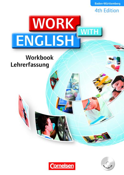 Work with English - Workbook mit CD - Lehrerfassung - A2/B1
