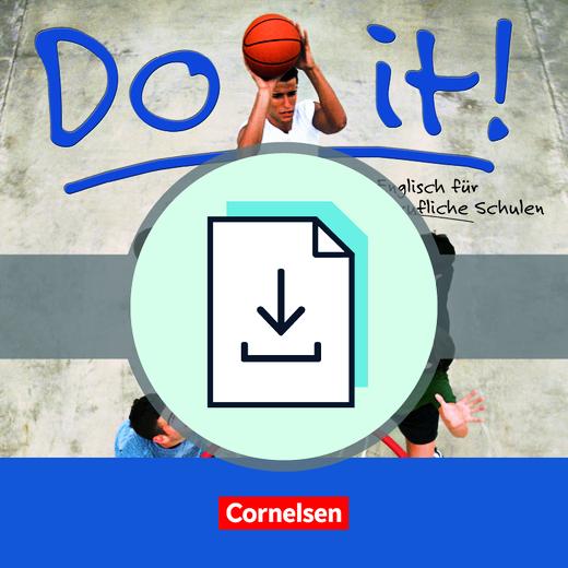 Do it! - Handreichungen für den Unterricht als Download - A1/A2
