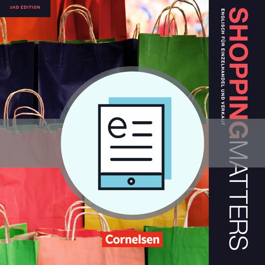 Shopping Matters - Schülerbuch als E-Book - A2-B2