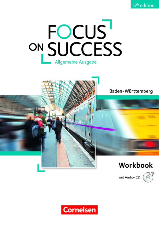 Focus on Success - 5th Edition - Workbook mit Audio-CD - B1/B2