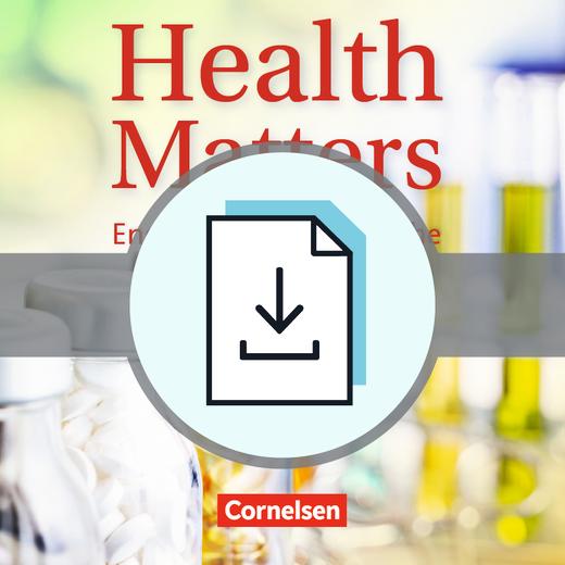 Health Matters - Handreichungen für den Unterricht als Download - A2/B1