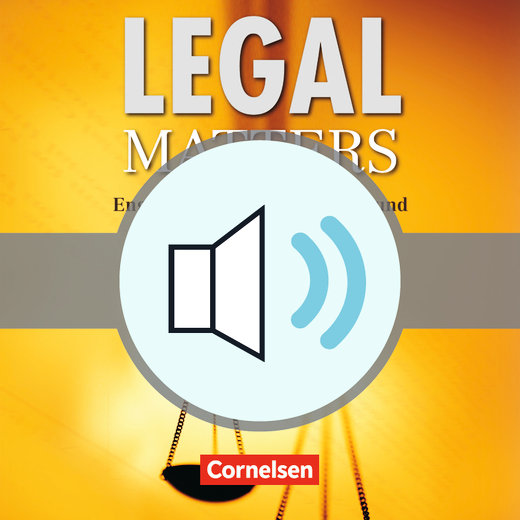 Legal Matters - Audio-Dateien als Download - B1