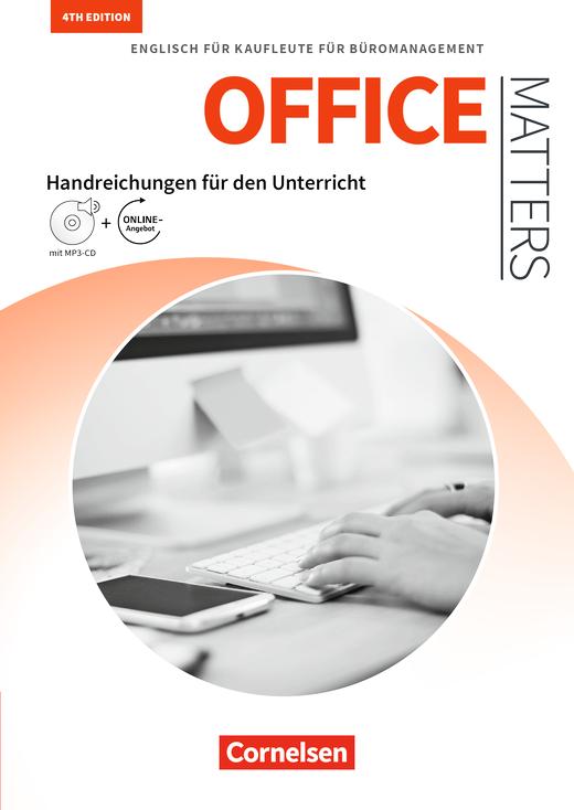 Matters Wirtschaft - Englisch für Kaufleute für Büromanagement - Handreichungen für den Unterricht mit MP3-CD und Zusatzmaterialien via Webcode - A2-B2