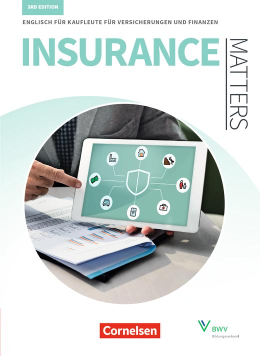 Matters Wirtschaft - Englisch für Kaufleute für Versicherungen und Finanzen - Schülerbuch - B1-Mitte B2