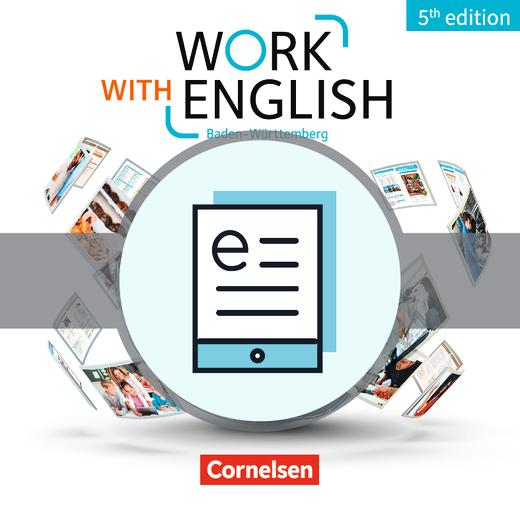 Work with English - Schülerbuch als E-Book - A2-B1+