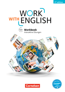 Work with English - Workbook mit interaktiven Übungen auf scook.de - A2-B1+