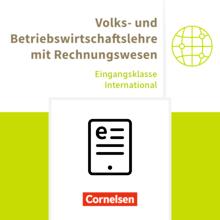 Wirtschaftsgymnasium Baden-Württemberg - VWL und BWL mit ReWe - Schülerbuch als E-Book - Eingangsklasse