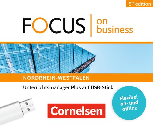 Focus on Business - Unterrichtsmanager Plus auf USB-Stick - B1/B2