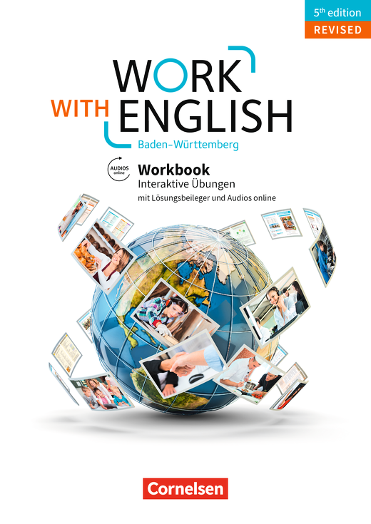 Work with English - Workbook mit interaktiven Übungen auf scook.de - A2-B1+