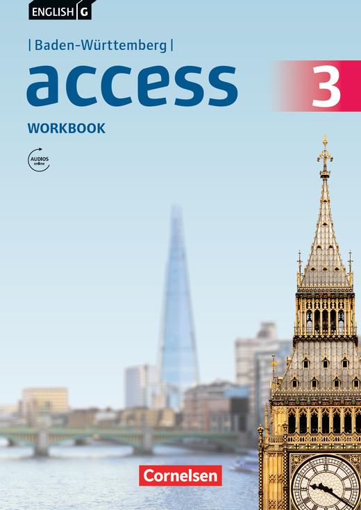 English G Access - Workbook mit Audios online - Band 3: 7. Schuljahr