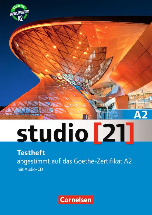 Studio 21 Testheft Mit Audio Cd Hörtexte Zum Hörverstehen A2