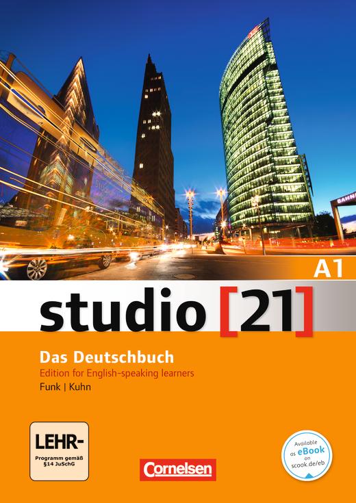 Studio [21] - Deutsch-Englisch - Kurs- und Übungsbuch mit DVD-ROM - A1: Gesamtband