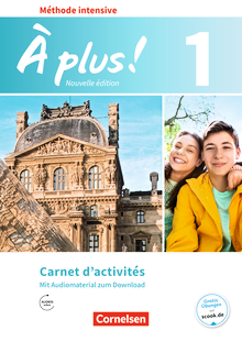 À plus ! - Carnet d'activités mit Audios online - Band 1