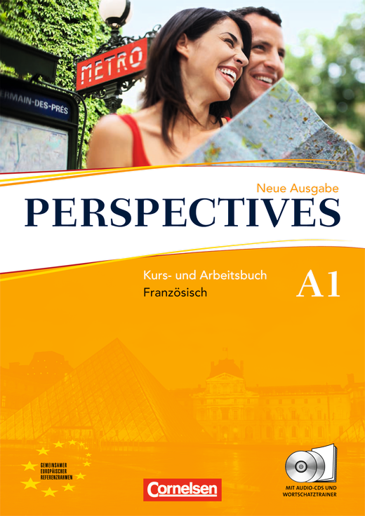Perspectives - Kurs- und Arbeitsbuch mit Lösungsheft und Wortschatztrainer - A1