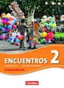 Encuentros - Grammatikheft - Band 2