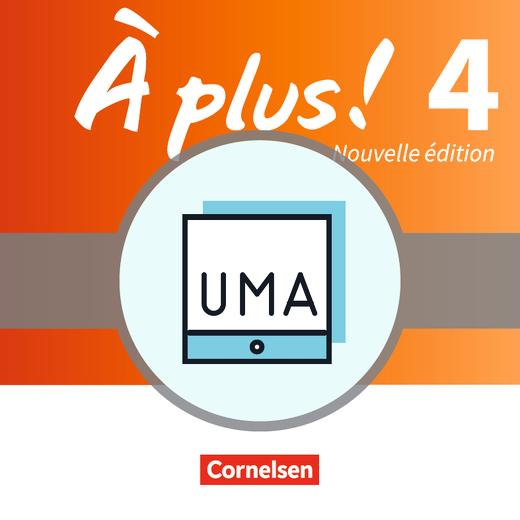 À plus ! - Unterrichtsmanager Zusatzmodul - Ergänzende Dateien zur Vollversion - Folien für den Unterricht - online und als Download - Band 4