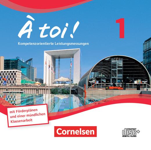À toi ! - Leistungsmessungen - CD-Extra - Band 1