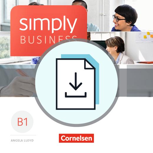 Simply Business - Handreichungen für den Unterricht als Download - B1