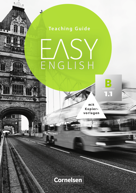 Easy English - Teaching Guide mit Kopiervorlagen - B1: Band 1