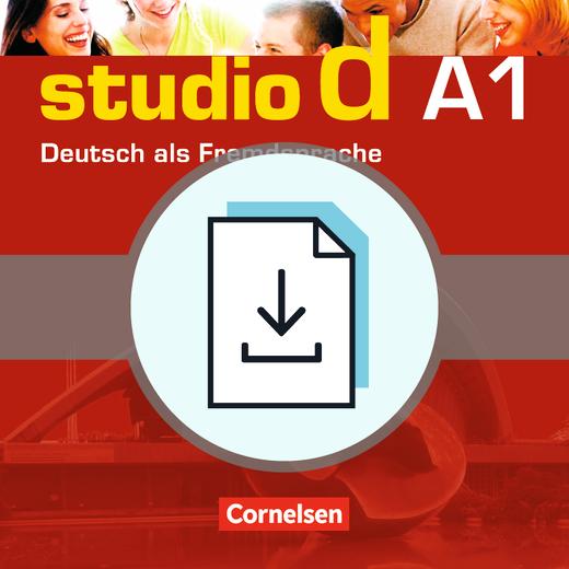 Studio d - Einstufungstest als Download - A1: Gesamtband