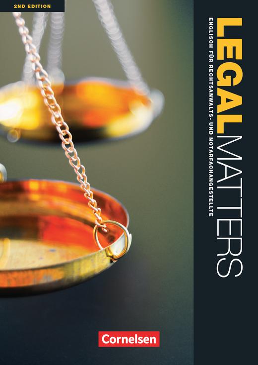 Legal Matters - Schülerbuch - B1/B2